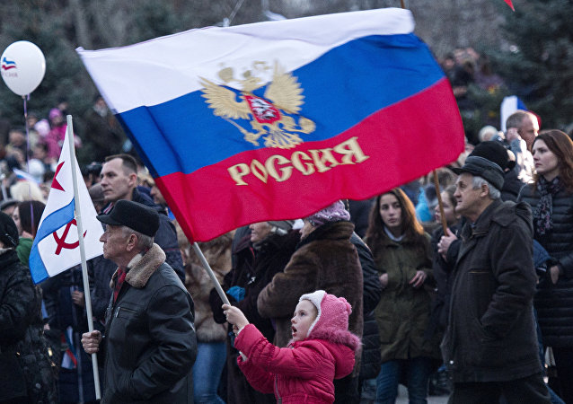Crimean Spring anniversary in Crimea