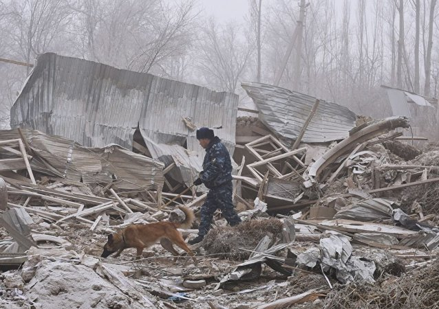 Turkish cargo plane on a flight from Hong-Kong crashed near Bishkek, Kyrgyzstan
