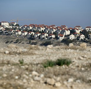 Part of the Israeli settlement of Maale Adumim, east of Jerusalem in the occupied West Bank
