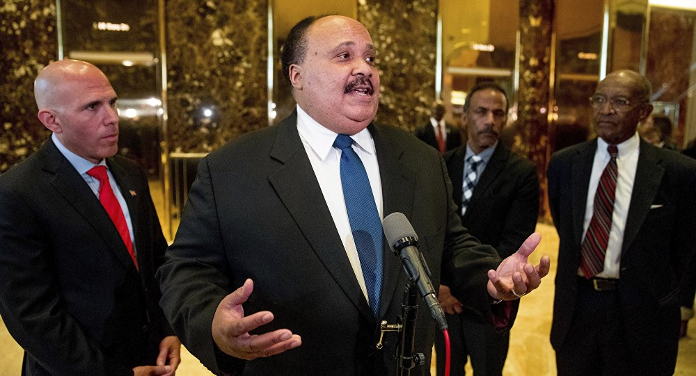 Trump Meets With Martin Luther King Iii On Mlk Day Sputnik