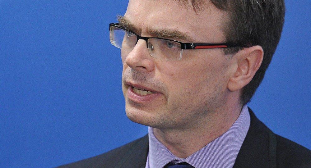Estonian Foreign Minister Sven Mikser. (File)