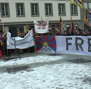 Tibet protesters detained in Swiss capital during Xi Jinping visit