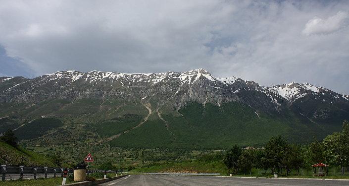 Gran Sasso Mountains