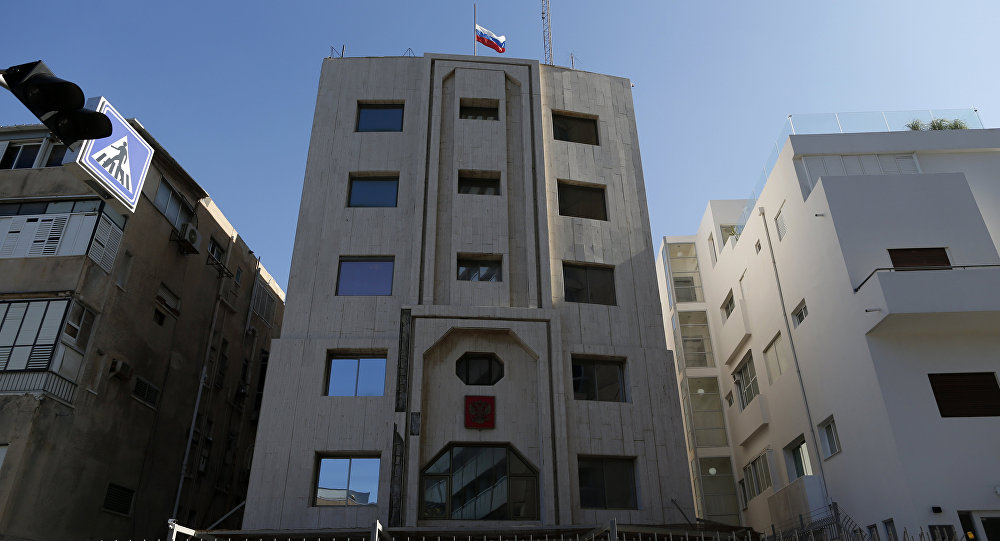 Russian embassy in Tel Aviv, Israel