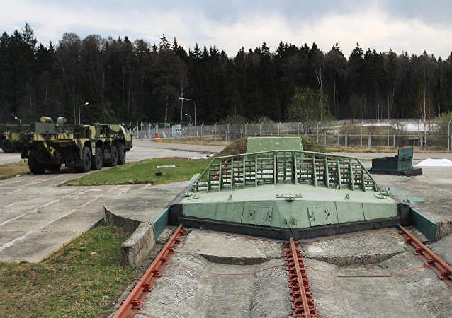 Short-range missile silos at the multifunctional radar station (MRLS) DON-2 H in Sofrino