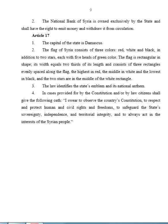Syrian Constitution, Page 9