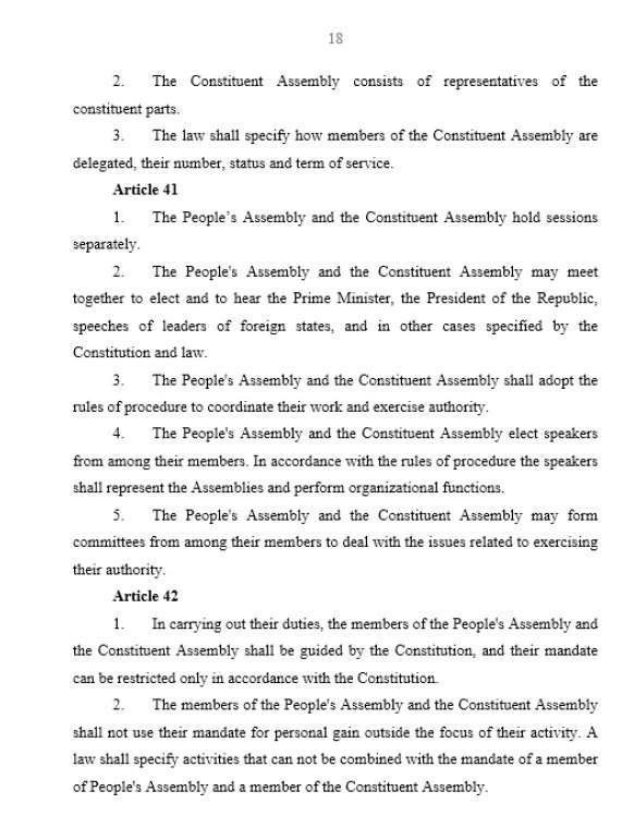 Syrian Constitution, Page 18