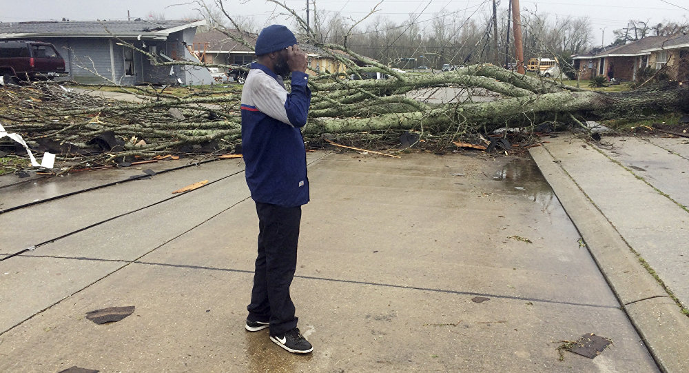 'Dozens of injuries' reported after tornado wrecks havoc on New Orleans