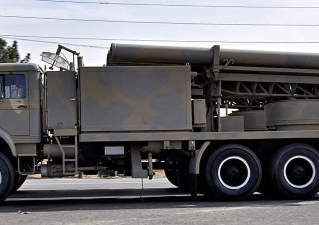 Fajr-5 multiple rocket launcher