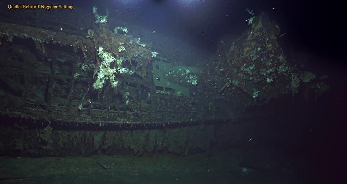 Tauchgang zum U-Boot U 581