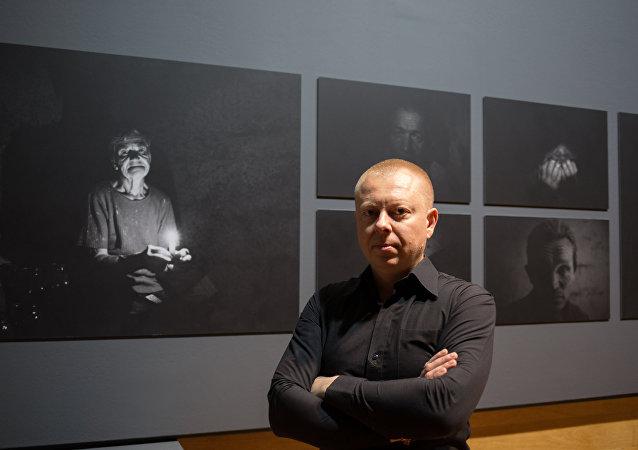 Rossiya Segodnya special correspondent Valery Melnikov