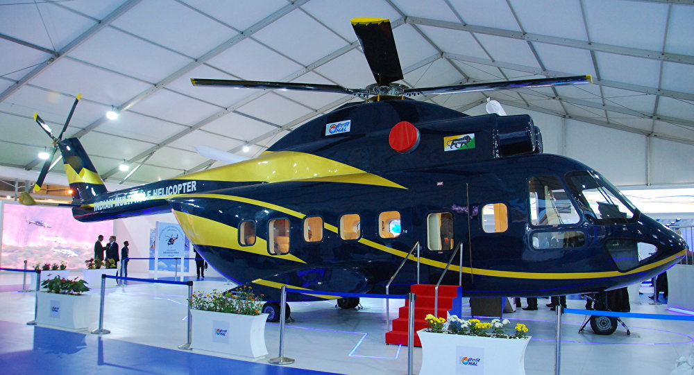 HAL twin engine 12 ton class multi-role helicopter