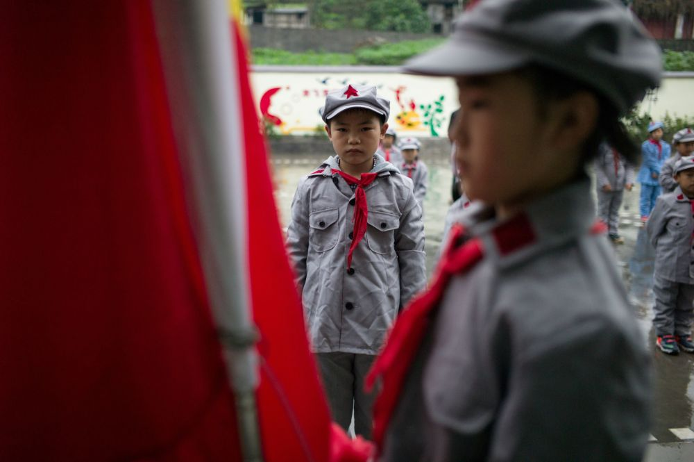 'Red Army' for Kids: Chinese Primary School Teaches Students Patriotism
