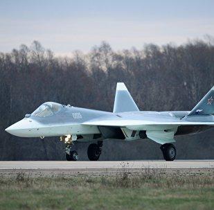 T-50 fighter flies from Komsomolsk-on-Amur to Zhukovsky