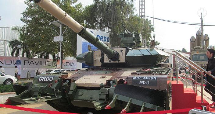 Arjun Mk II tank