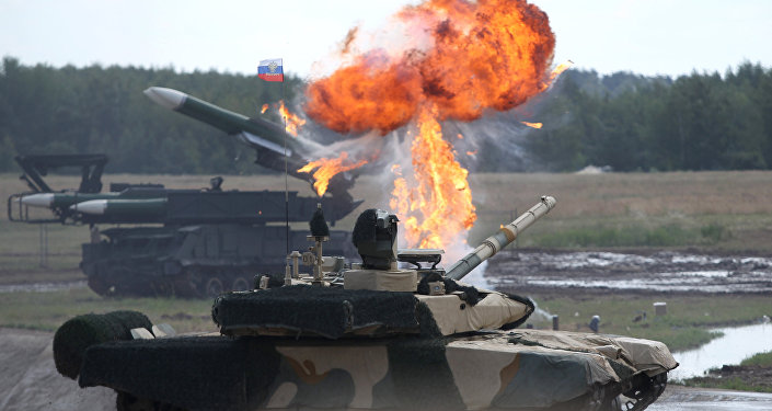 Tank-90 MS at the second international forum Engineering Technologies 2012, in Zhukovsky near Moscow. (File)