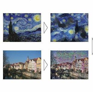 Leon Gatys shares a neural algorithm of artistic style