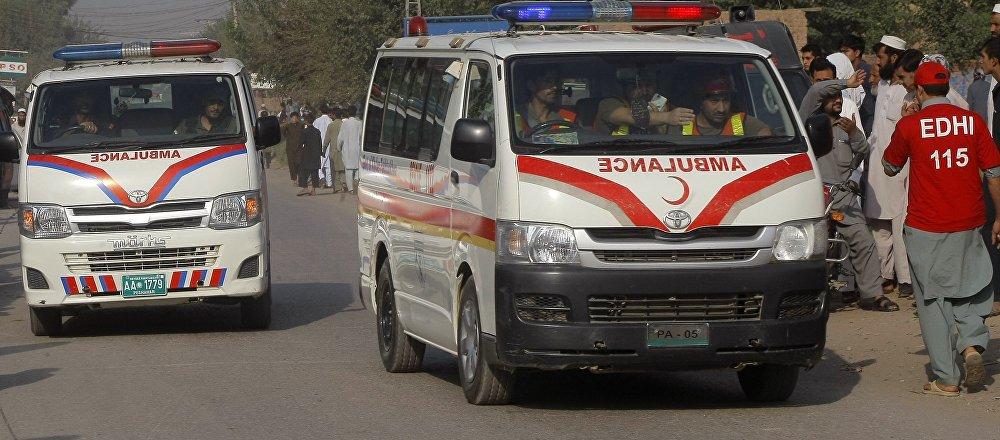 Pakistan ambulance. (File)