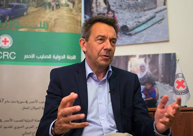 President of the International Red Cross Peter Maurer
