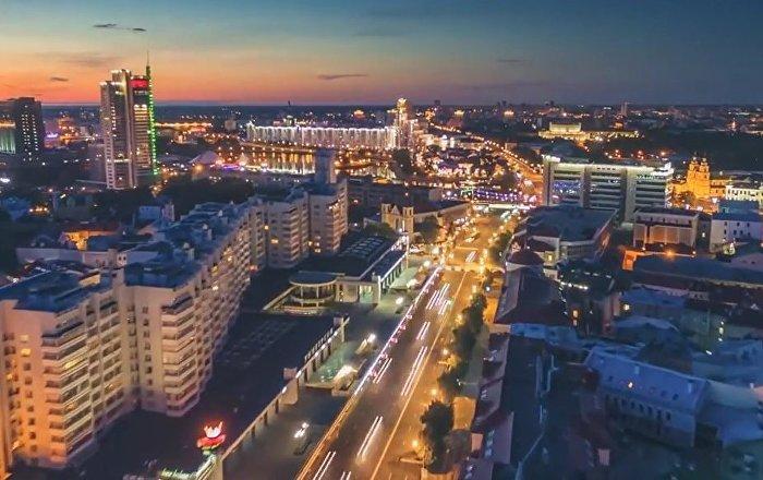 'Dronelapse' Shots Of Minsk