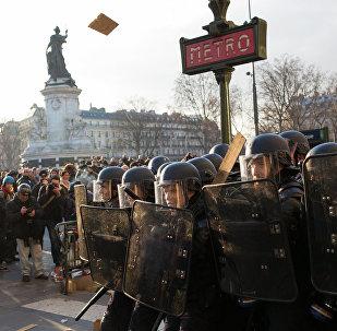 Protests in Paris