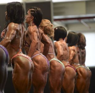 Chiseled Olympian Gods of Colombia's First International Bodybuilding Contest