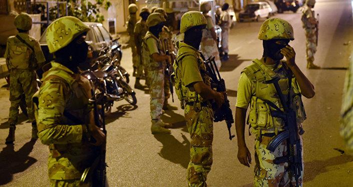 Pakistani paramilitary rangers (File)