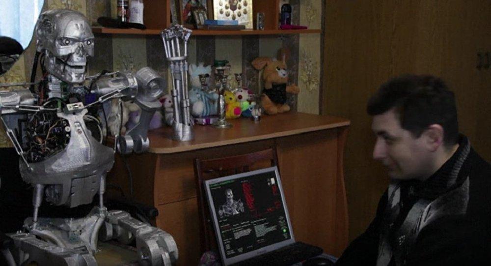 3D Printed Terminator T-800