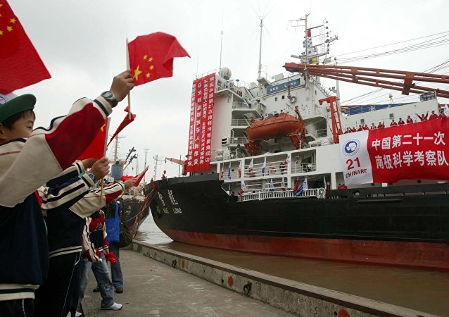 China's Antarctic expedition ship (File)