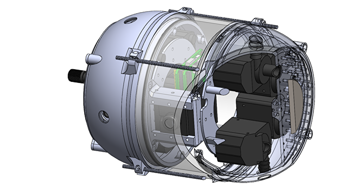 Nuclear Decomissioning Underwater Robot