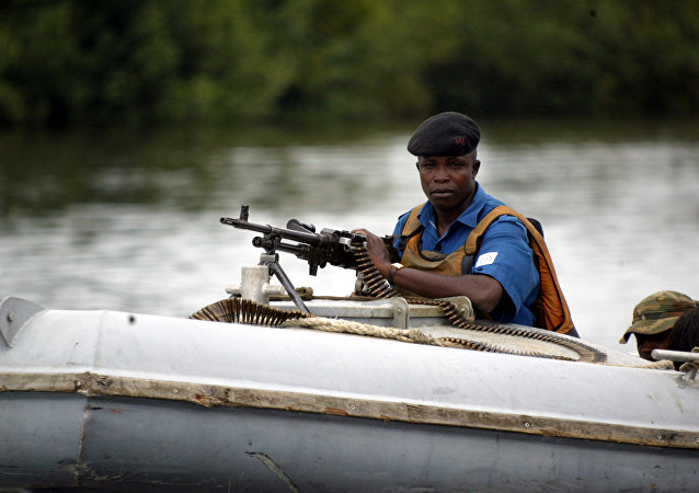 Nigerian coast guard. (File)