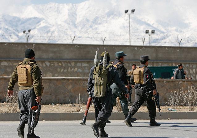 Afghan policemen. (File)