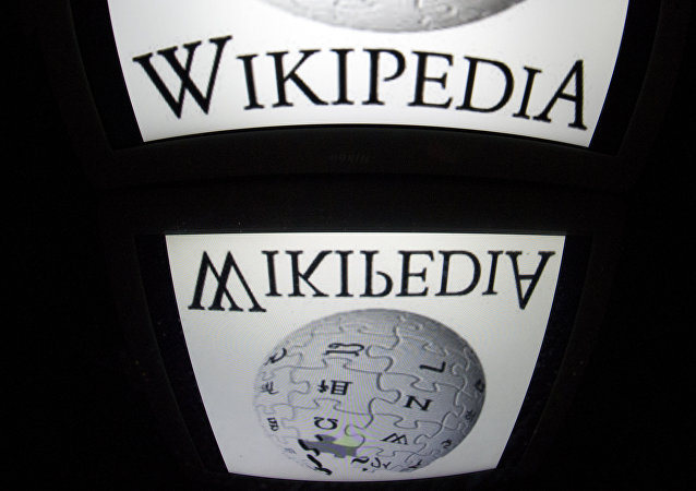 The Wikipedia logo. (File)
