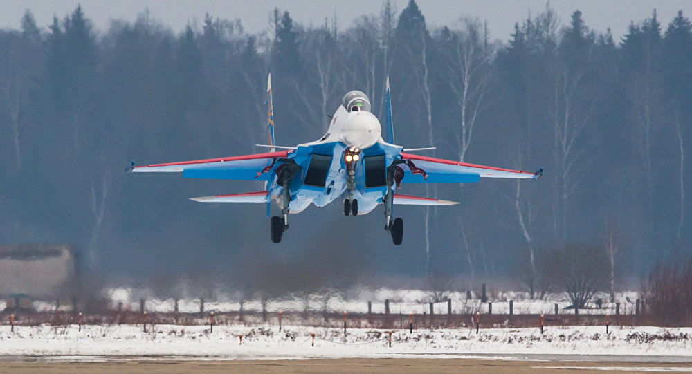 Russian Knights aerobatic team