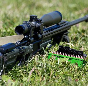 A sniper rifle. (File)