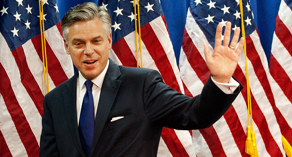 US Ambassador to Russia Huntsman Says Excited About New Role