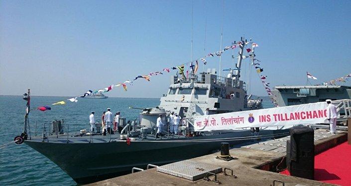 Tillanchang of Car Nicobar Class vessel