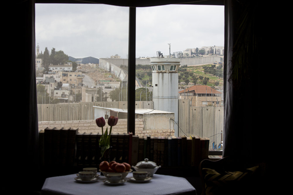 Banksy's Hotel of Discord Boasts 'World's Worst View'