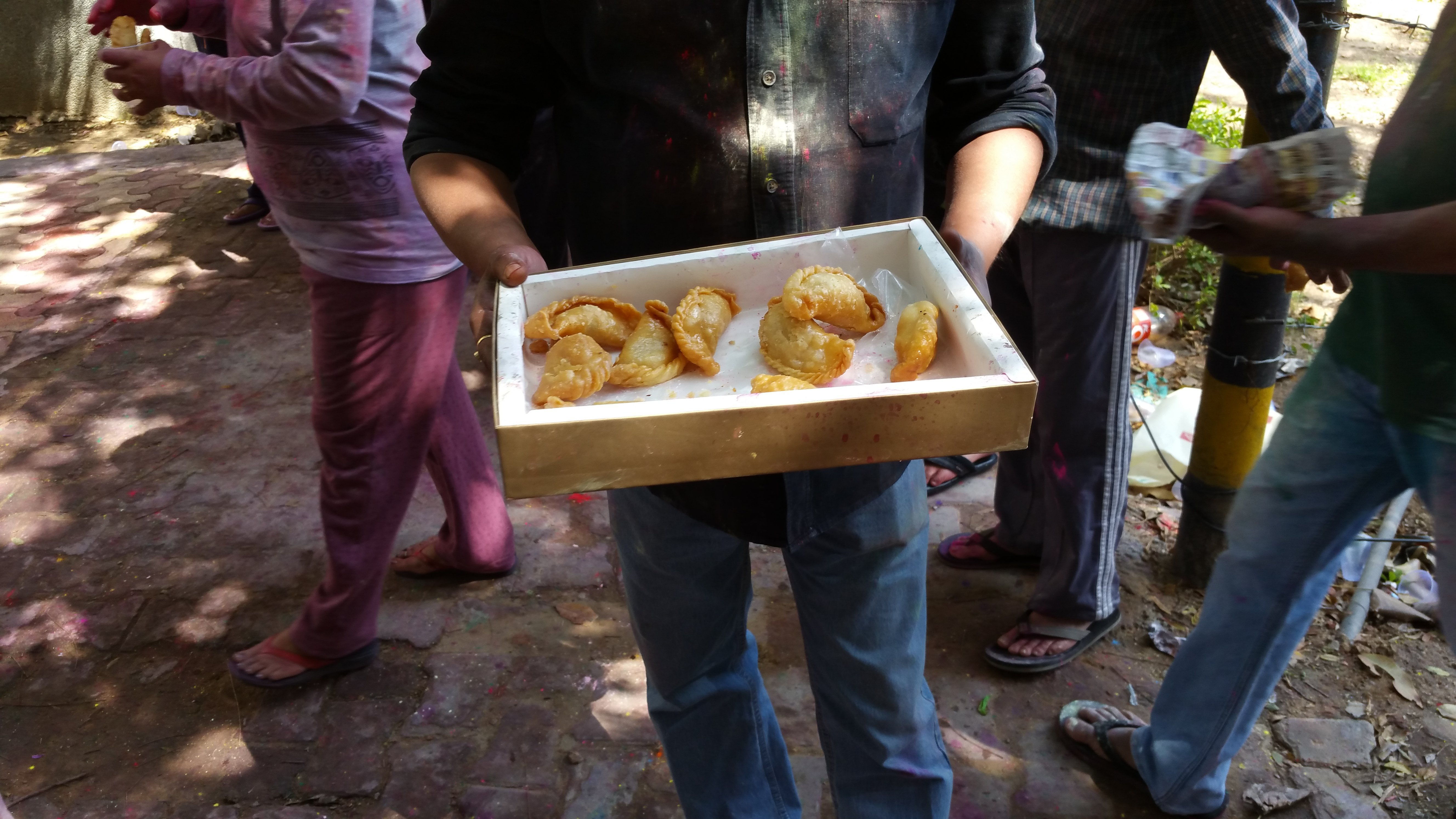 India Celebrates the Festival of Colors Holi with Joy, Revelry, Sweet Gujias