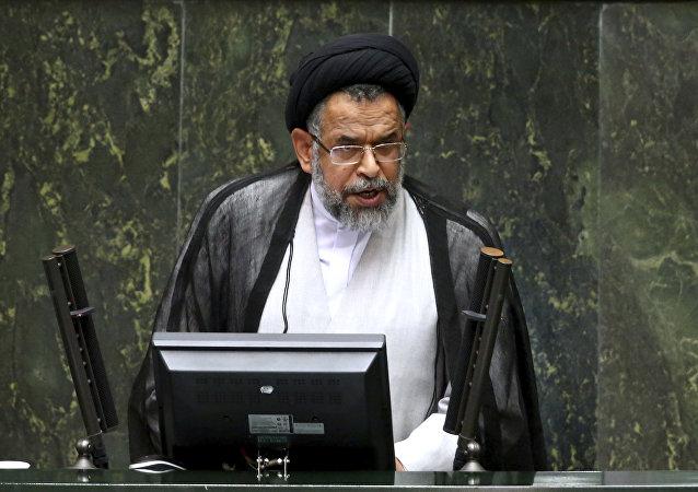 Iranian Intelligence Minister Mahmoud Alavi. (File)