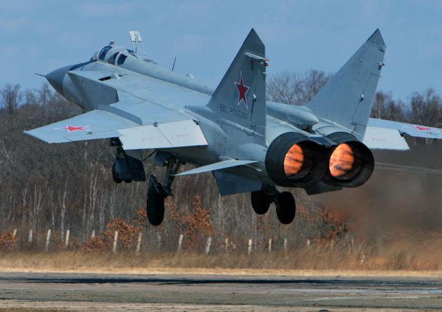 Airtight: Russian MiG-31 Interceptor Jets Practice Defending the Sky Frontier