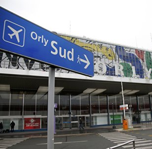 A general view shows the Orly airport southern terminal near Paris, France (File)