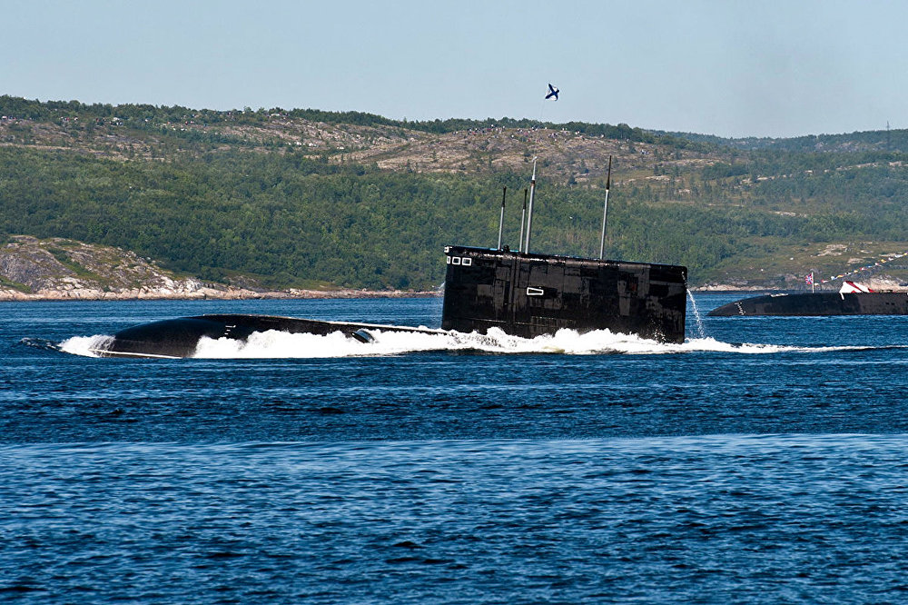 Threat From the Deep: Deadly Might of Russia's Submarine Fleet