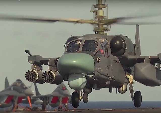 Russian Naval K52-K Attack Helicopter