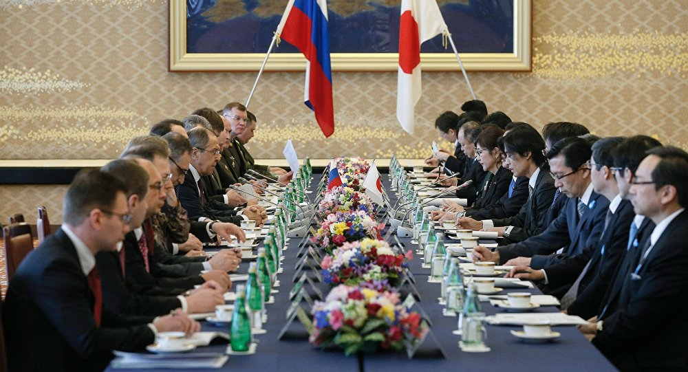 Putin: Russia Seeks to Build Ties With Japan But Only Within Constitutional Framework