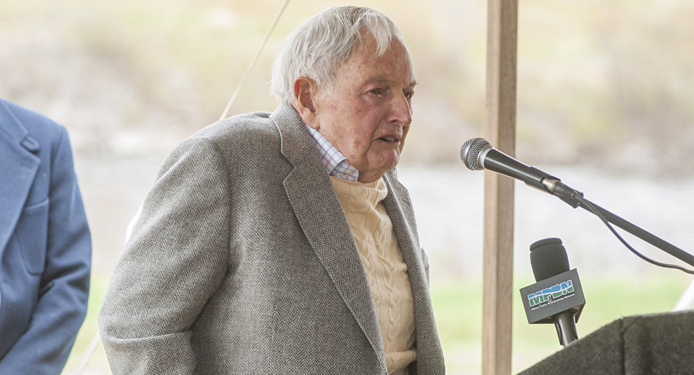 David Rockefeller, banker and philanthropist, dies at 101