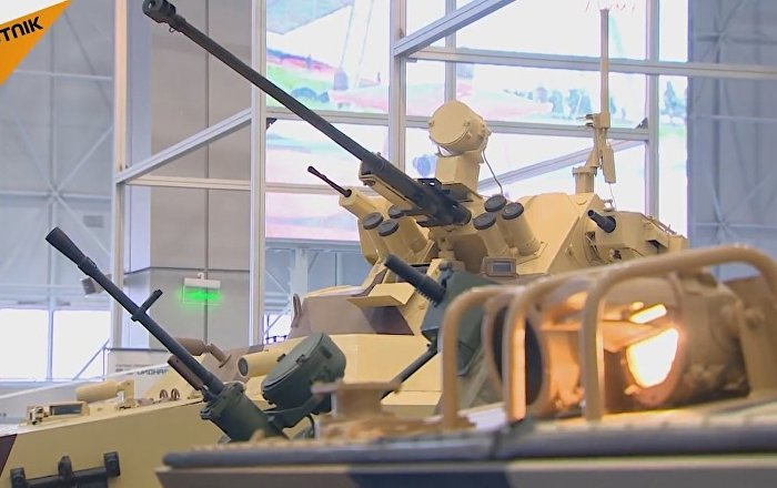 Military Robotics Conference Begins In Moscow