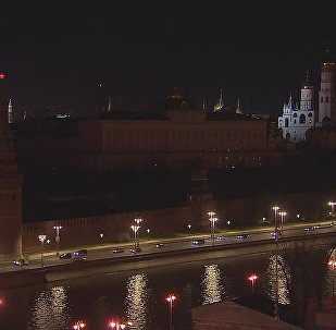 Moscow Takes Part in The Earth Hour