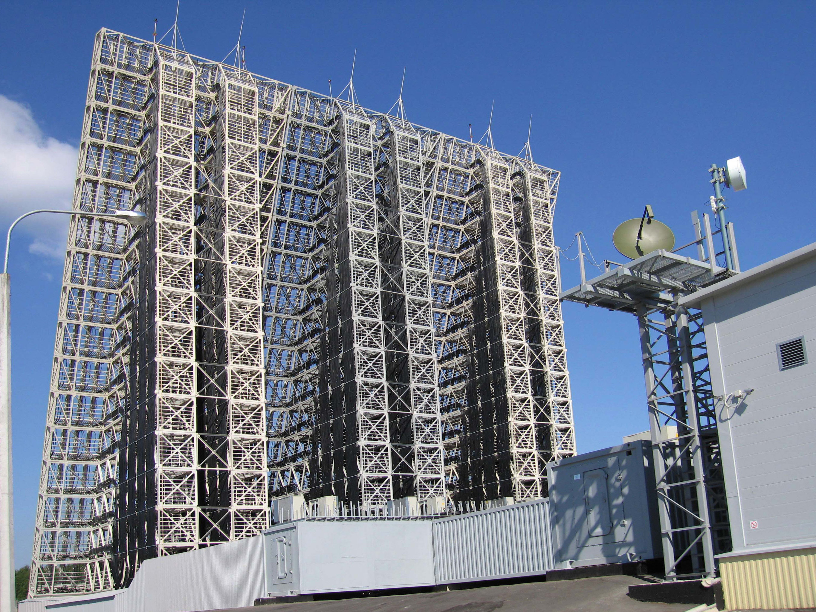 The Voronezh radar