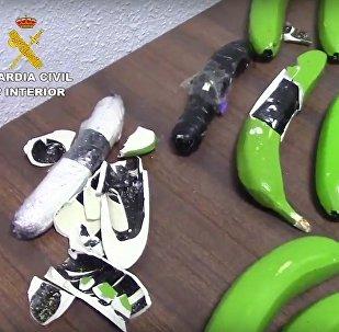 Drugs Found In Fake Bananas